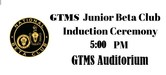GTMS Junior Beta Induction Ceremony