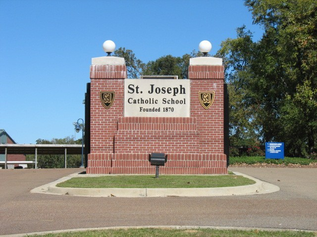 St. Joseph Catholic School Main entrance