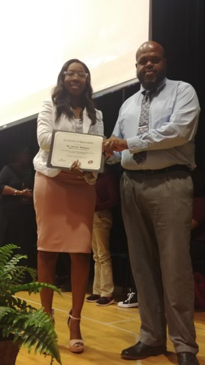 Awards Program Speaker SaCole Williams