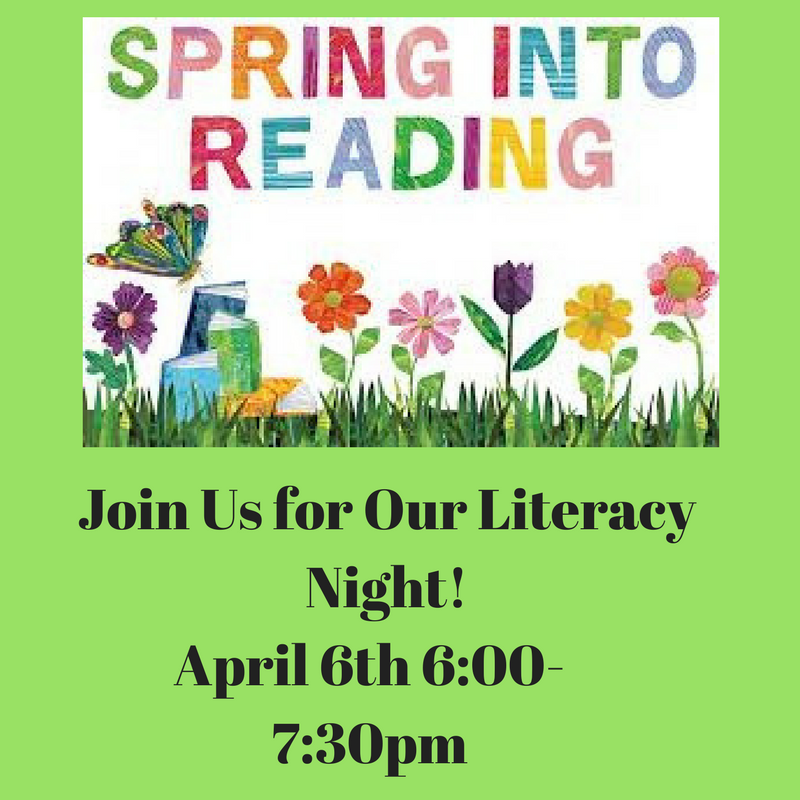 Spring Into Reading with Our Literacy Night! Thumbnail Image