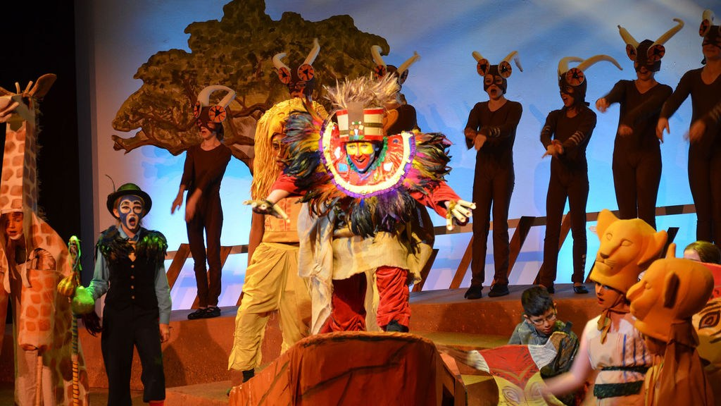 Lion King performance