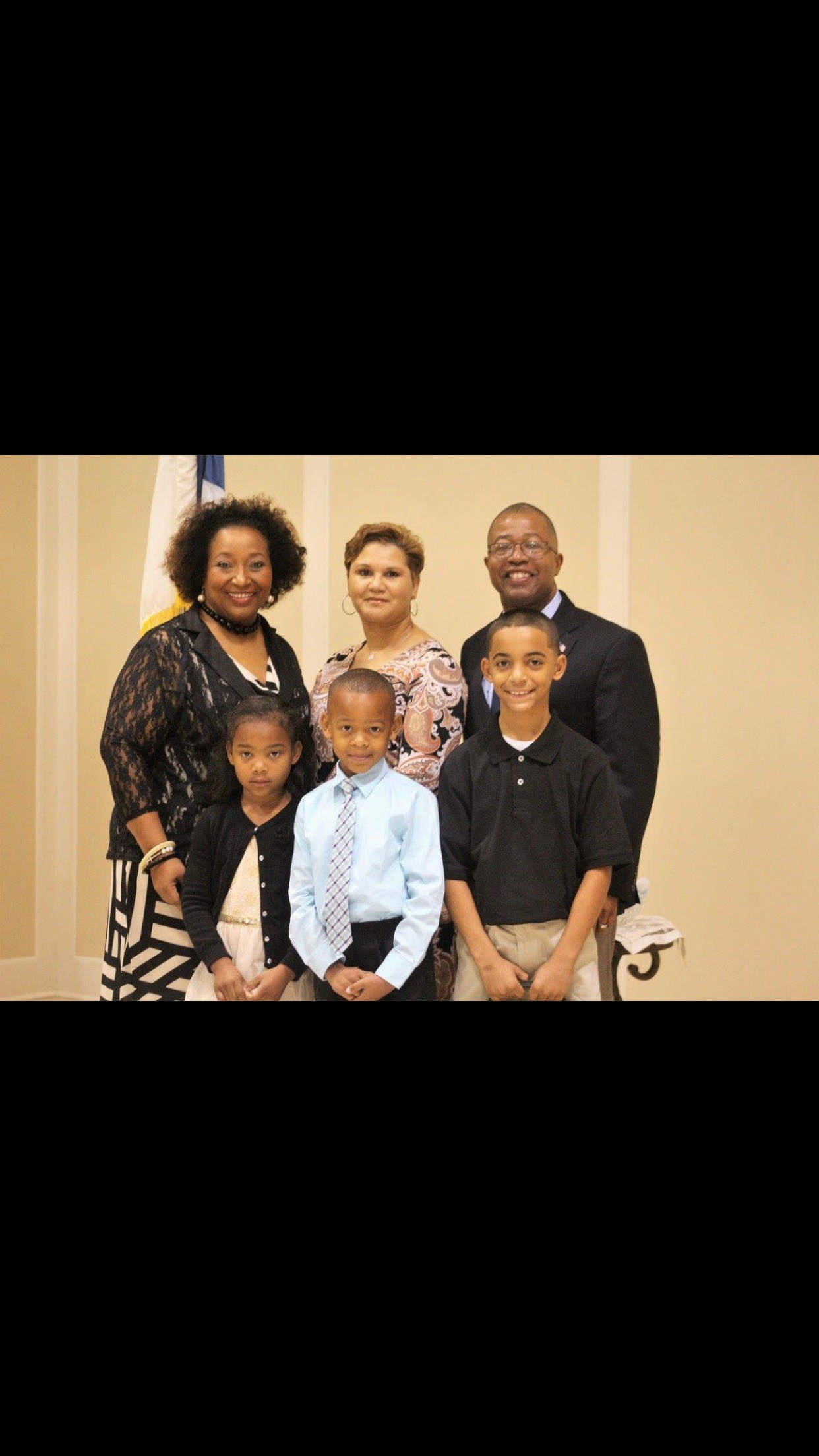 Superintendent, wife and my family