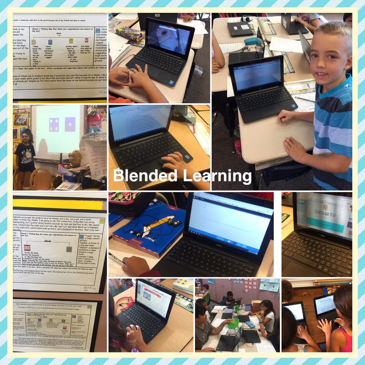 Students use purposeful technology.