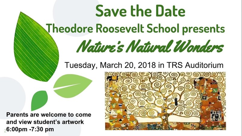 TRS Art Show - Tuesday, 3/20