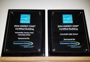 Energy Star plaque award