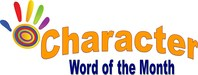 Character Word of the Month Slogan