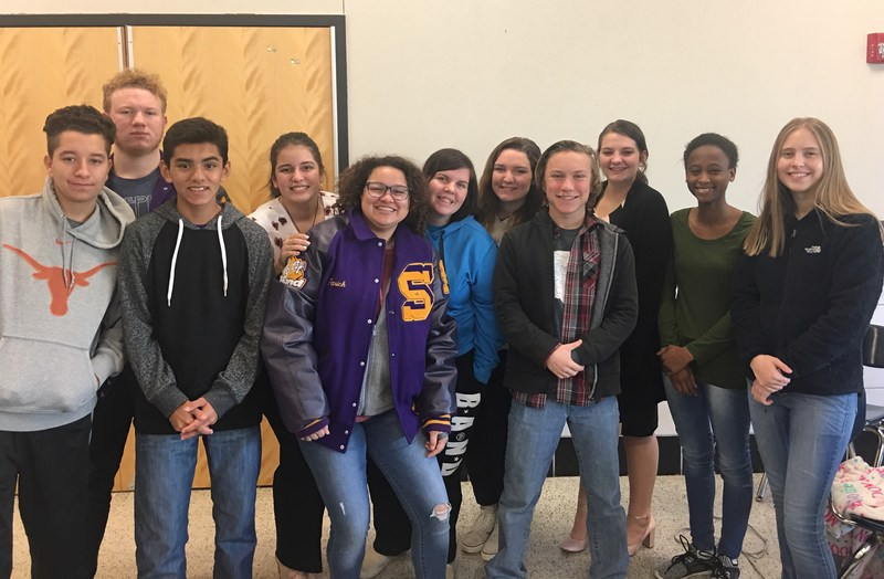 Sanger High School UIL Academic Participants
