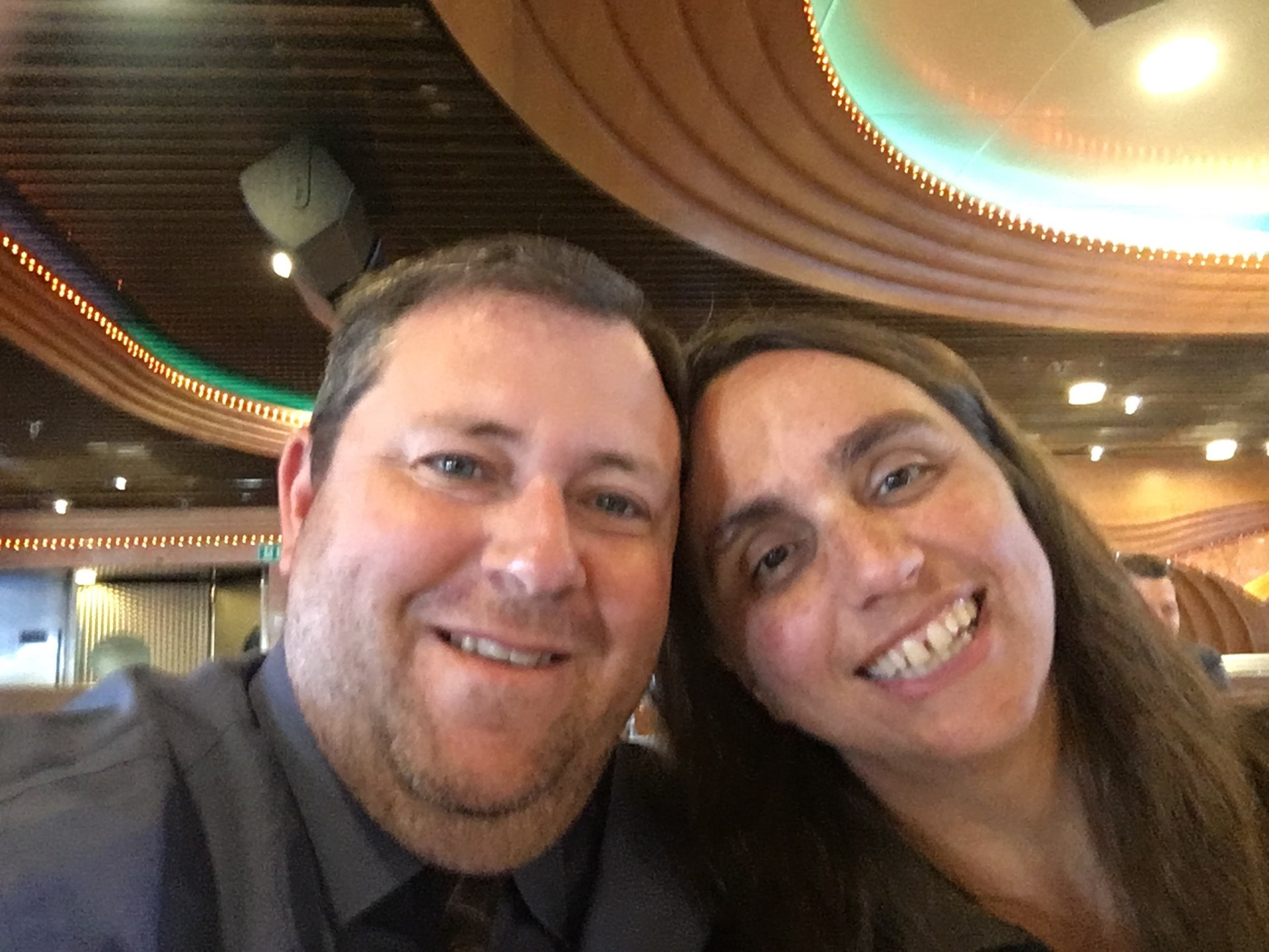 Picture of mr oviatt with wife