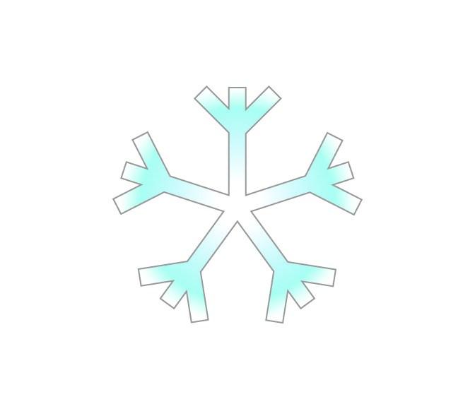 Ashley's snowflake