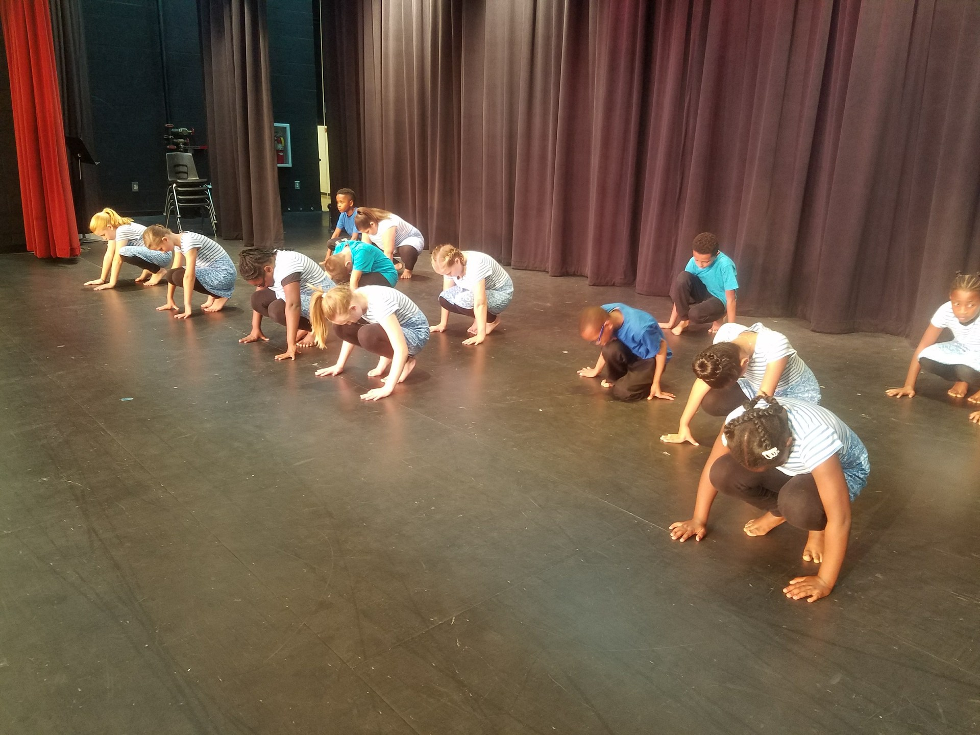 Dance Company performs a BCAA