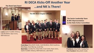 NK DECA team attends conference