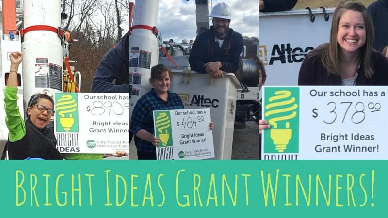 Bright Ideas Grant Winners