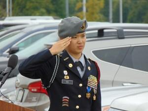 Cadet Colonel Jennifer Cen