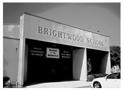 A photo of Brightwood School