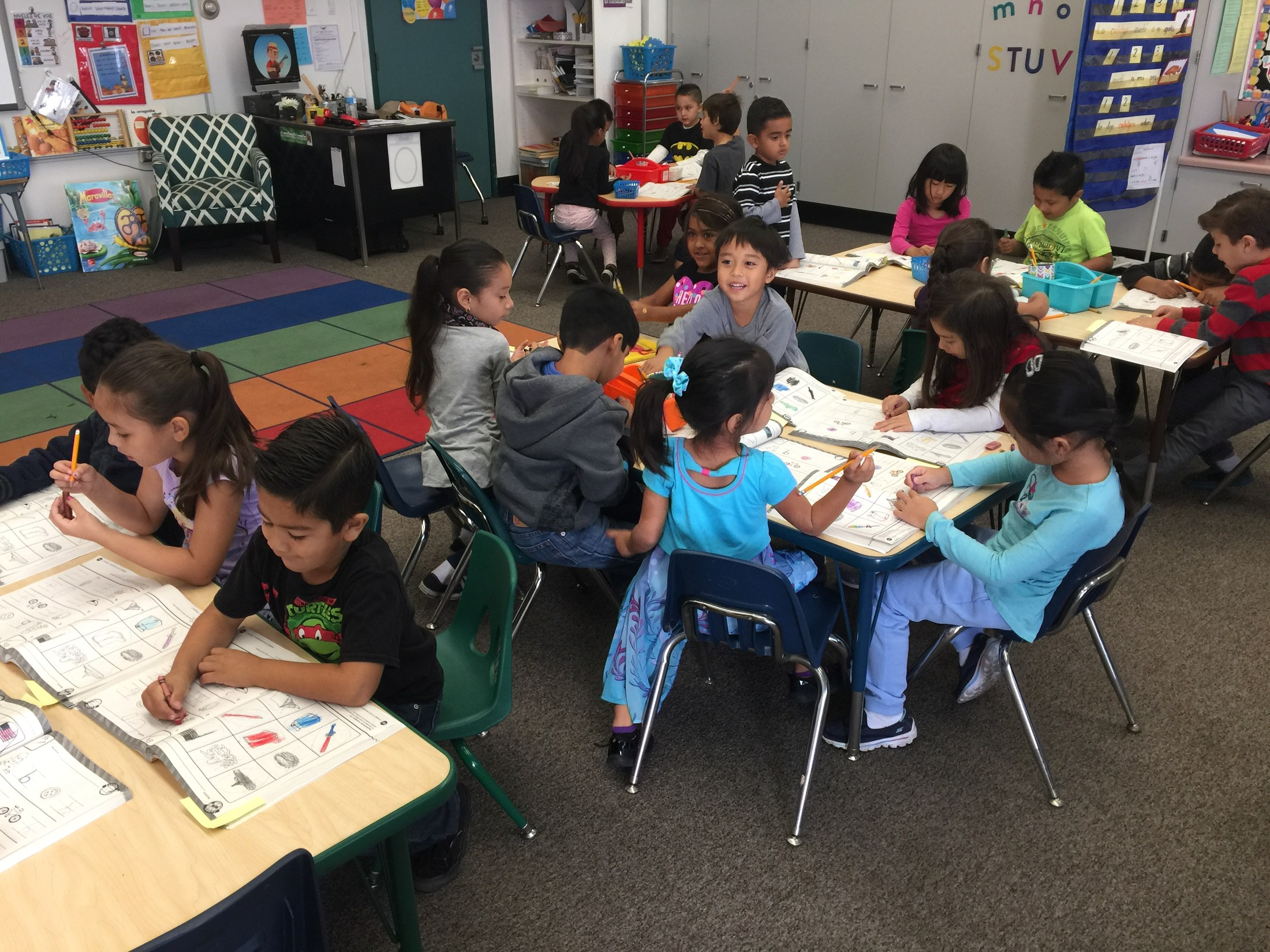 Spanish Dual Language Immersion Classroom