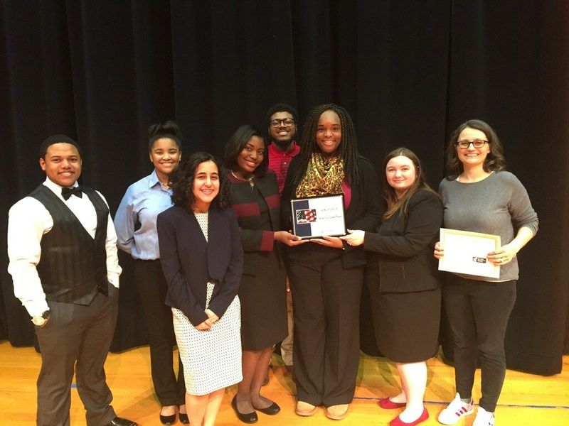 DECA's Mock Trial Team Advances to State Competition! Thumbnail Image