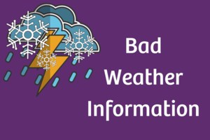 Bad Weather Information