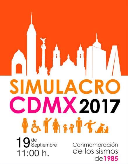 ¡Recuerden! Este martes habrá macrosimulacro en CDMX. Featured Photo