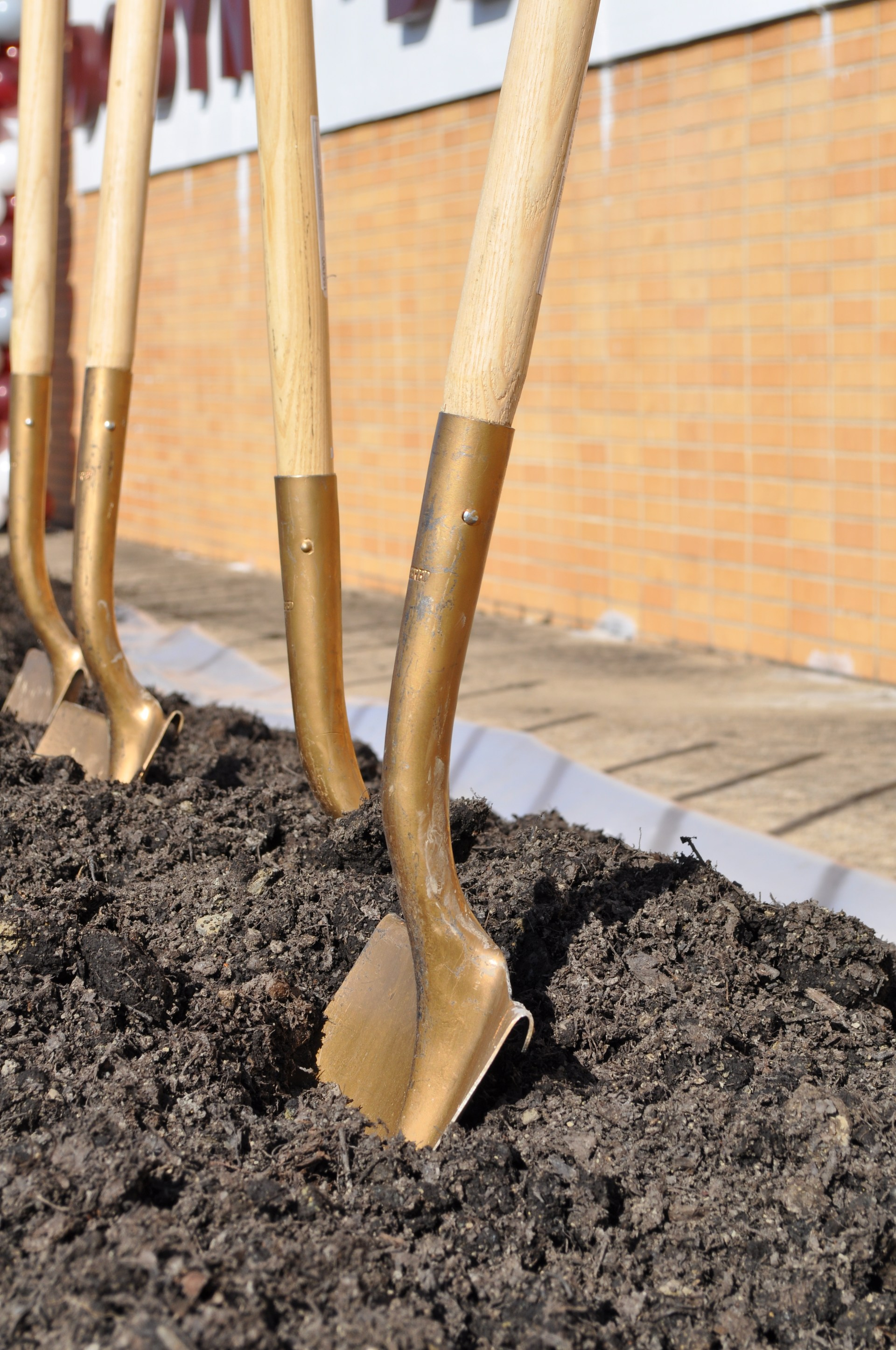 RSTC Groundbreaking - shovel