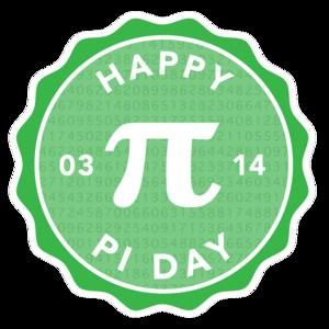 Happy Pi Day symbol