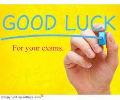 Good Luck on Exams