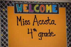 Mrs. Acosta
