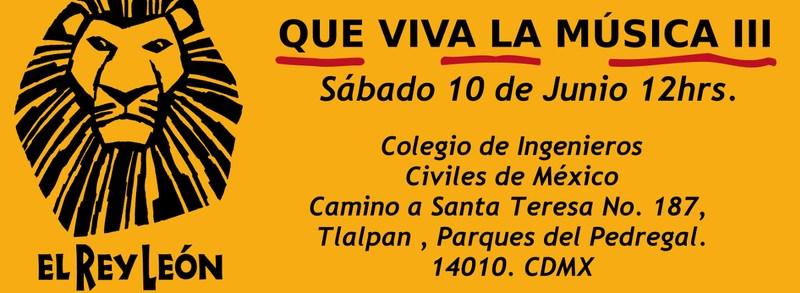 Ensayo general musical del Rey Leon, viernes 9 en el CICM Thumbnail Image