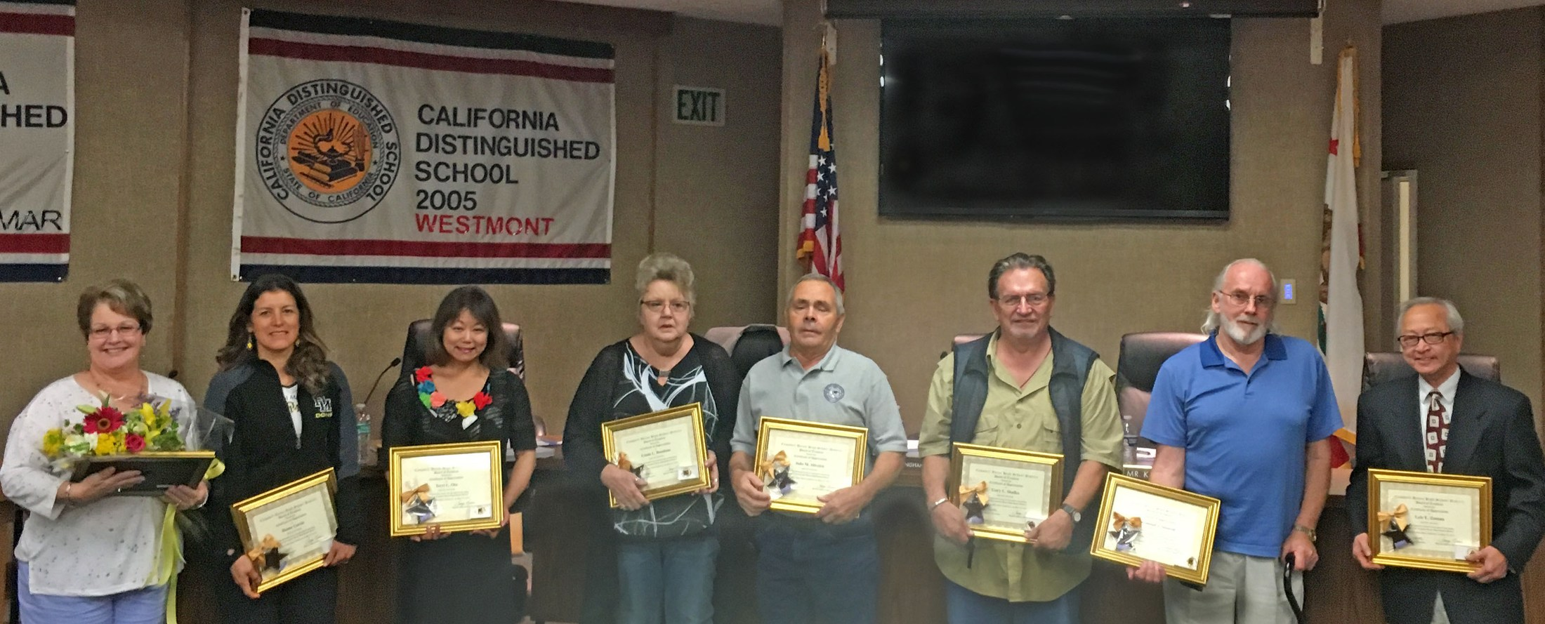 CUHSD Salutes 2016 Retirees