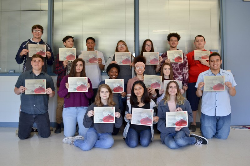 Students earn Photoshop certification
