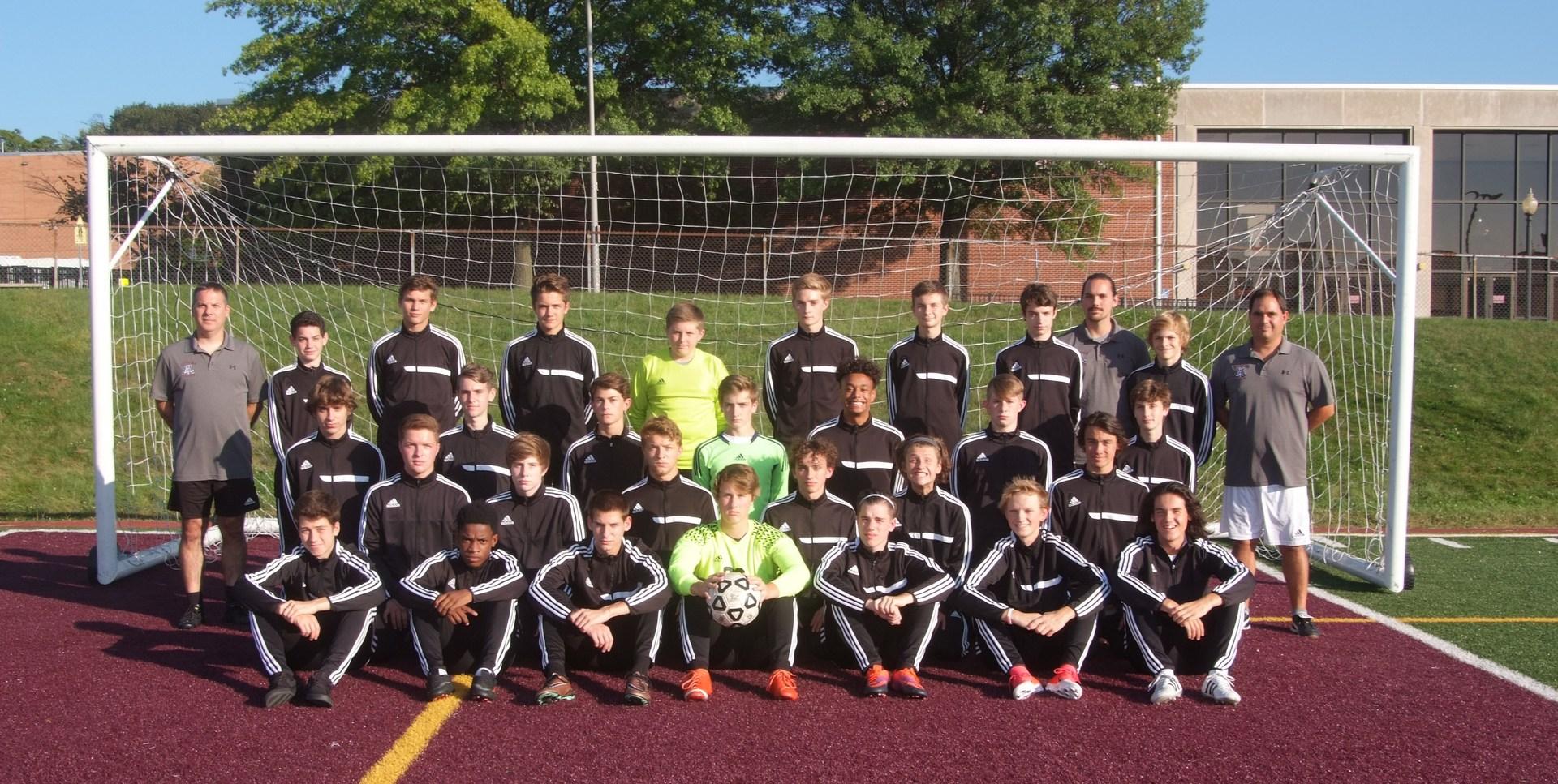 AAHS Boys Soccer team photo