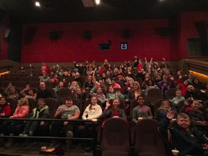 Brentwood 4th graders see the movie Wonder