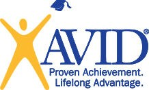AVID advancement via individual determination