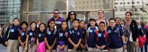 4th grade students visiting One World Observatory