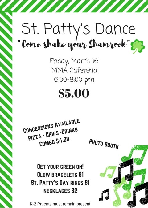 St. Patty's Day Dance Thumbnail Image