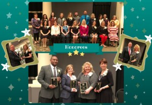 Teacher and Principal of the Year Nominees from each school in Wilkes County