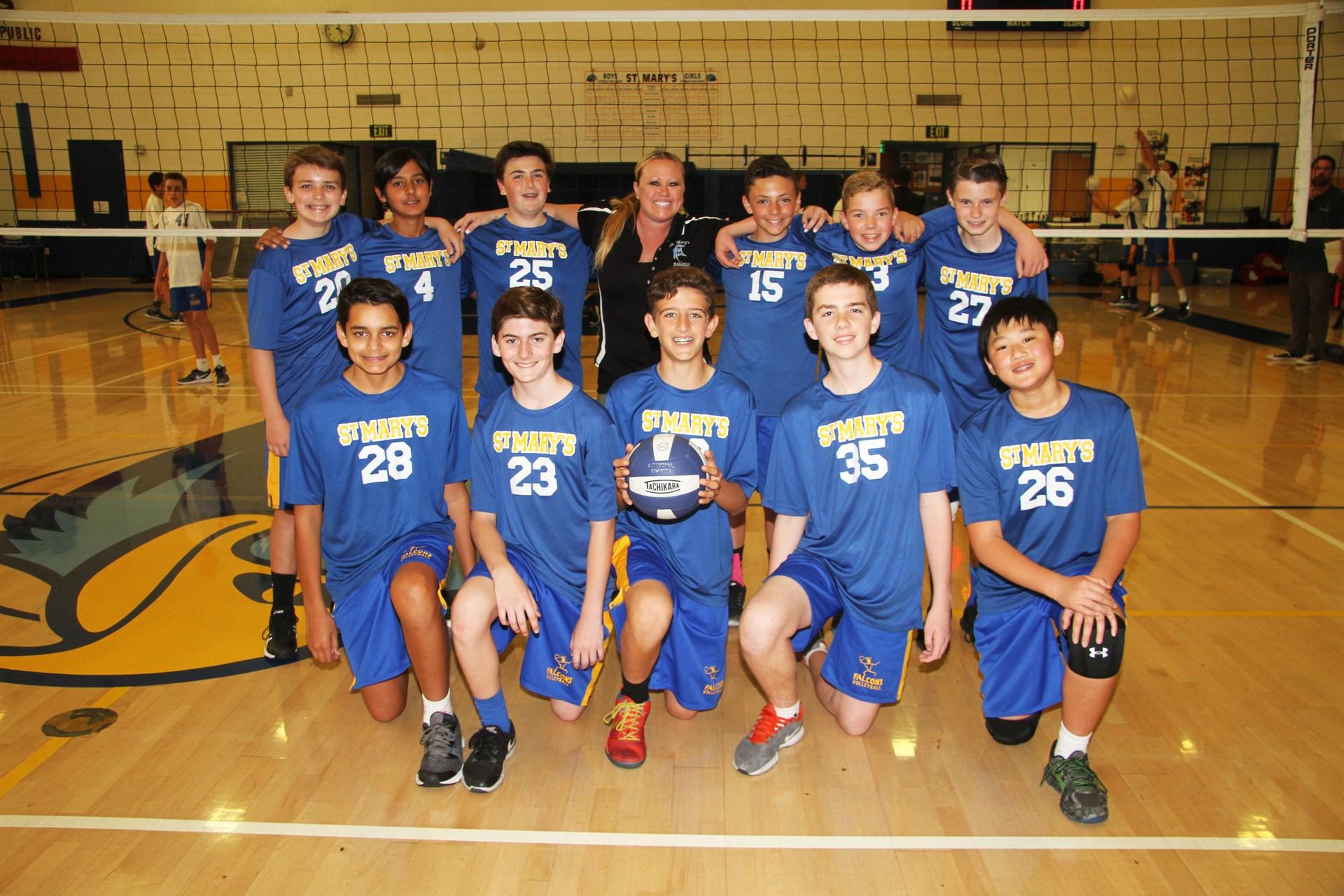 Canyon A boys volleyball photo