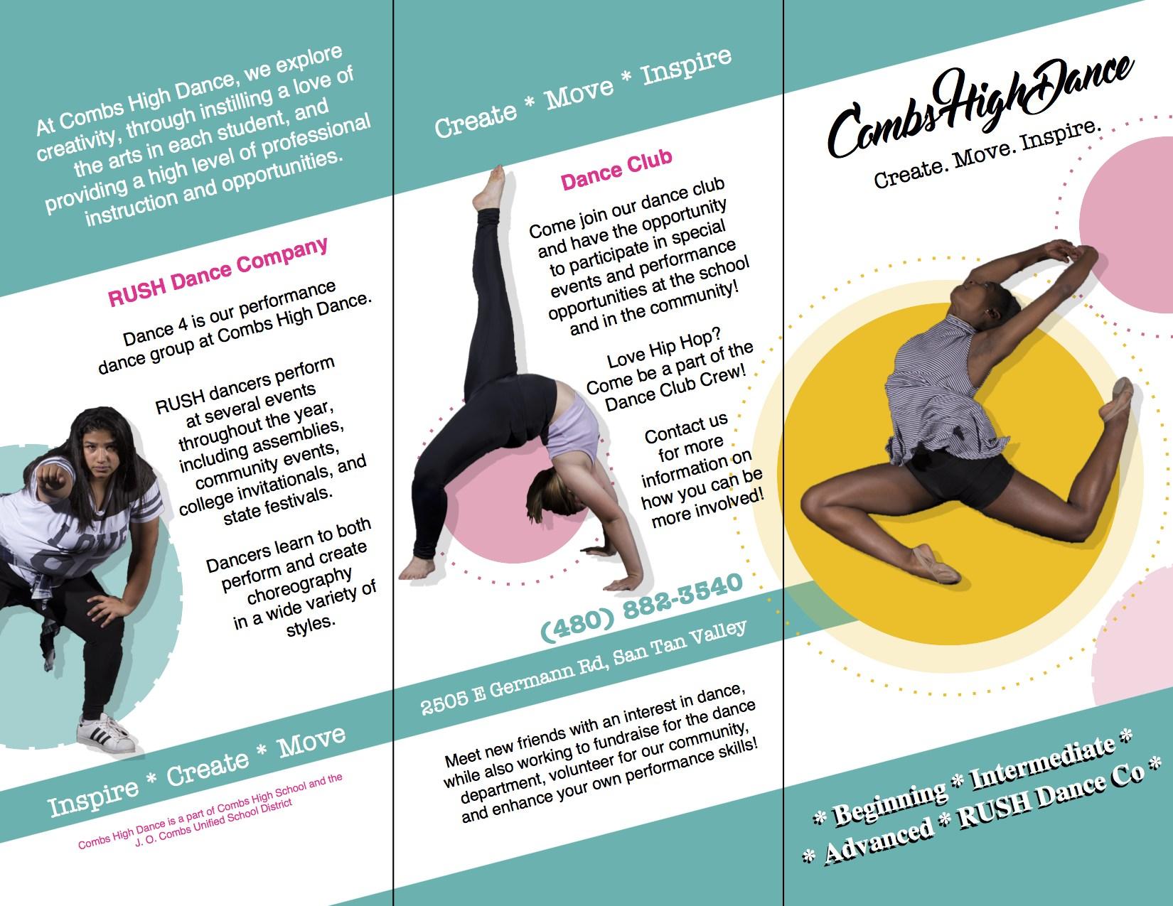 Combs High School Dance Promotional Flyer