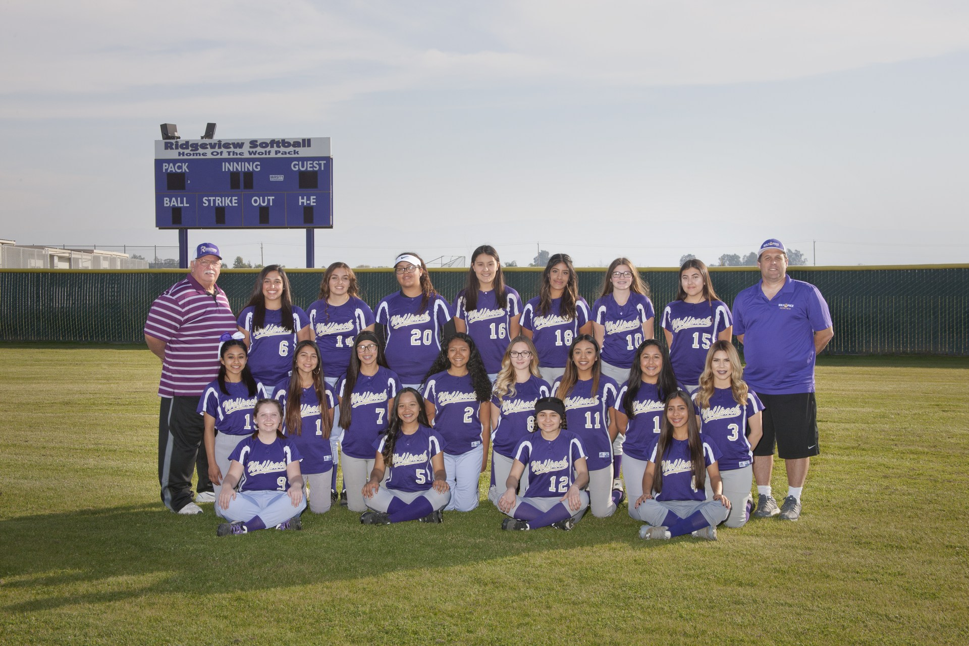 RHS JV Softball