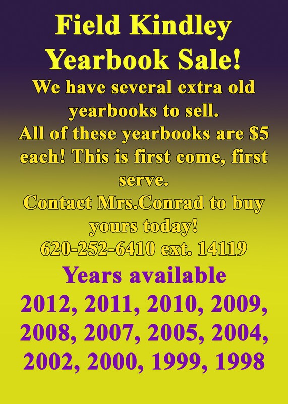 Yearbook Sale! Thumbnail Image