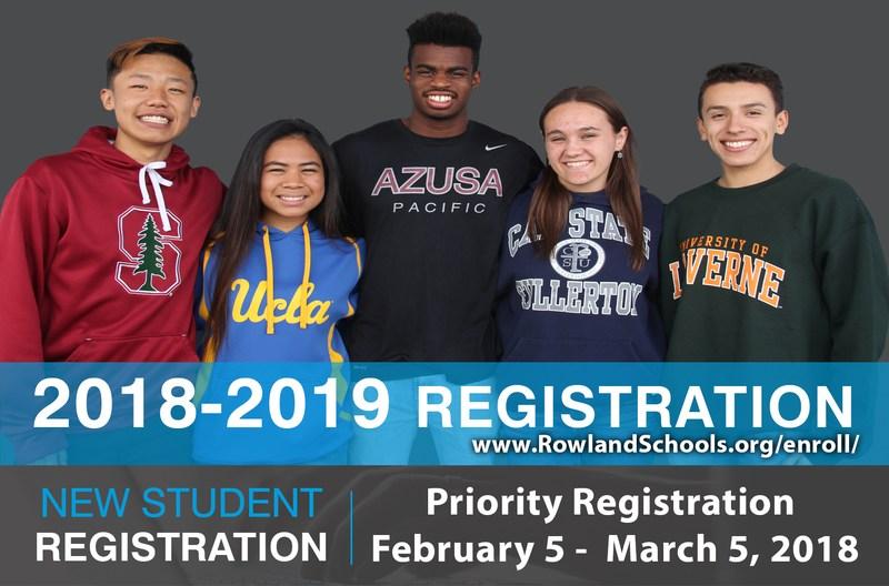2018-19 Registration