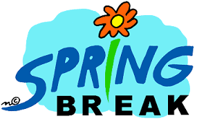 SPRING BREAK MARCH 27-31 NO SCHOOL! Thumbnail Image