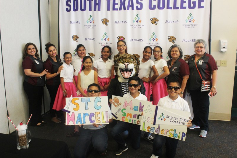 Photo Caption: Marcell Elementary students attended the South Texas College (STC) held its 5th annual Junior Jaguar Leadership Conference.