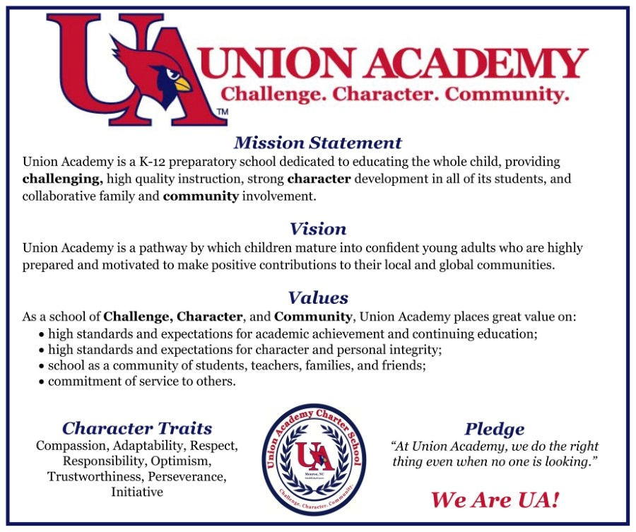 UA Mission Statement, Vision, Values