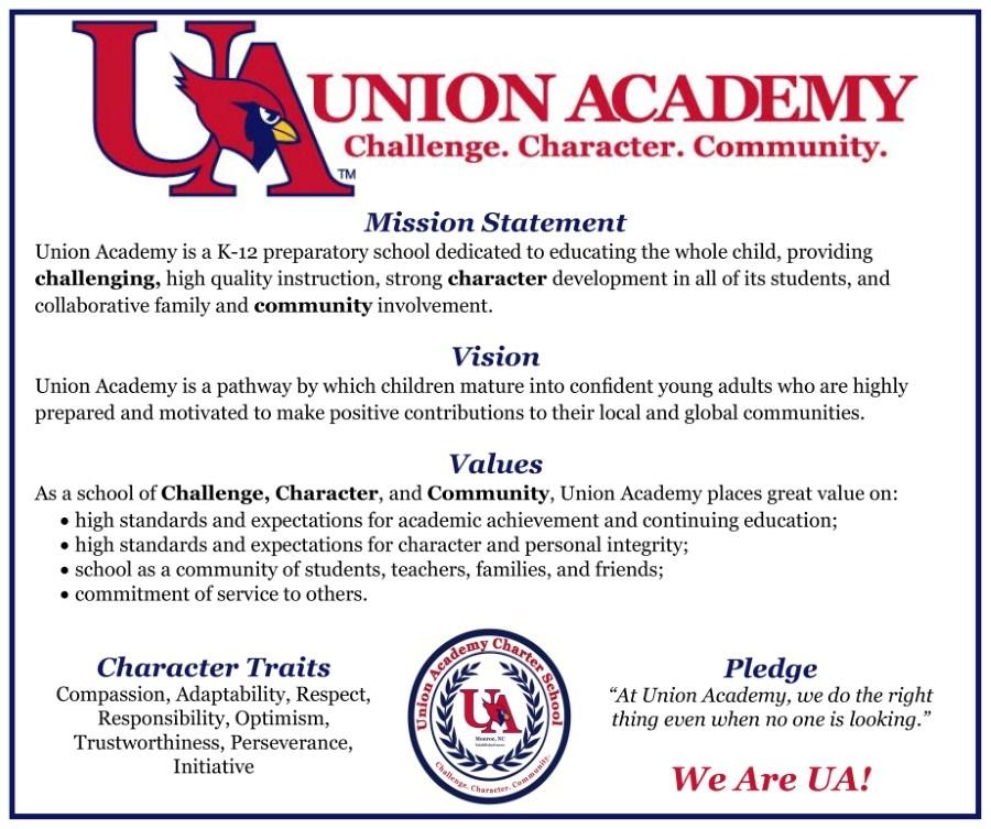 UA Mission Statement, Vision, Values