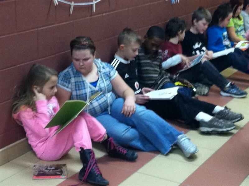 Book Buddies Reading