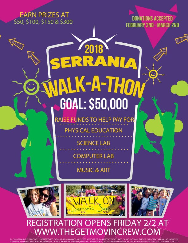 2018 walkathon