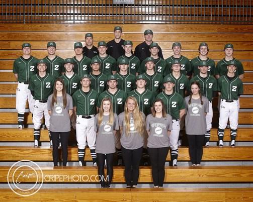 2017 Varsity Baseball Team Photo
