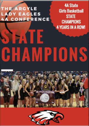 Lady Eagles State Champions!