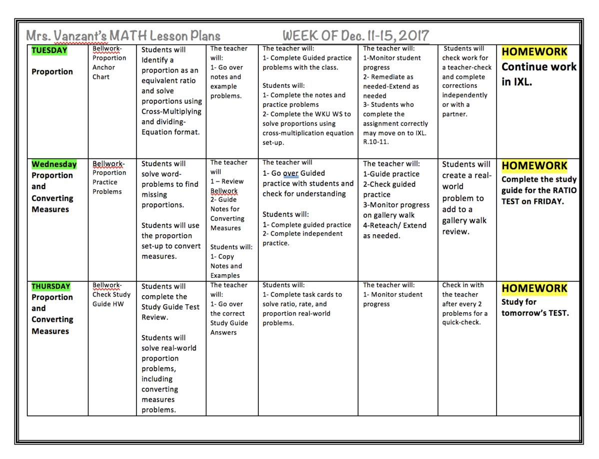 Mrs vanzants 6th grade math class weekly plans with learning mrs vanzants math lesson plans geenschuldenfo Image collections