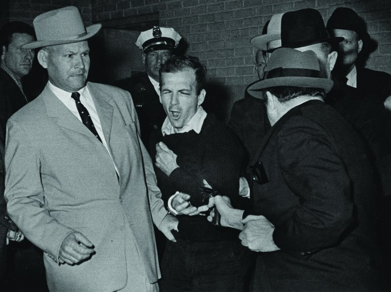 HP Graduate Bob Jackson took this Pulitzer Prize-winning photo of Lee Harvey Oswald being shot by Jack Ruby.
